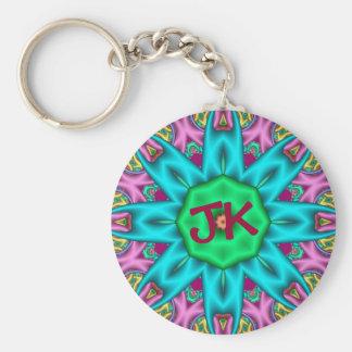 Porte-clés Porte - clé décoratif mignon avec le monogramme