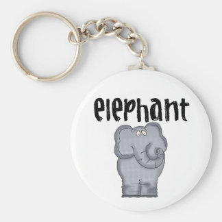 Porte-clés Porte - clé d'éléphant
