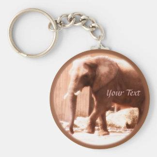 Porte-clés Porte - clé d'éléphant africain