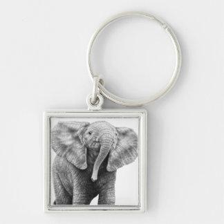 Porte-clés Porte - clé d'éléphant africain de bébé
