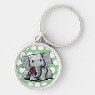 Porte-clés Porte - clé d'éléphant de KiniArt