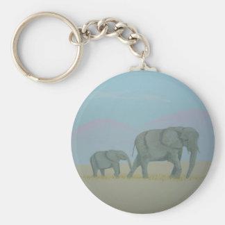 Porte-clés Porte - clé d'éléphants