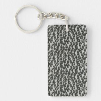 Porte-clés Porte - clé d'empreinte de léopard