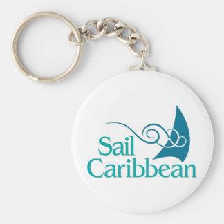 Porte-clés Porte - clé des Caraïbe de voile