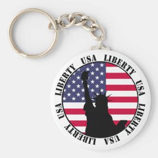 Porte-clés Porte - clé des Etats-Unis de liberté