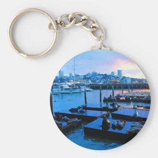 Porte-clés Porte - clé des otaries #5 de la jetée 39 de San