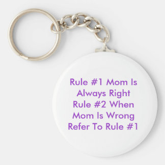 Porte-clés Porte - clé des règles de la maman