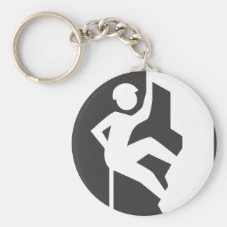 Porte-clés Porte - clé d'escalade de roche