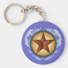 Porte-clés Porte - clé d'étoile de Texas