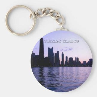Porte-clés Porte - clé d'horizon de Chicago