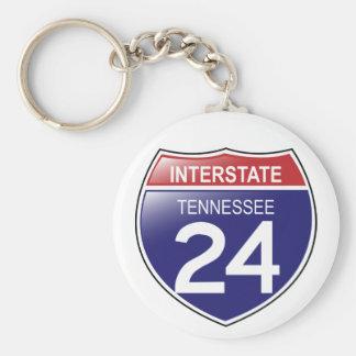 Porte-clés Porte - clé d'I-25 Tennessee
