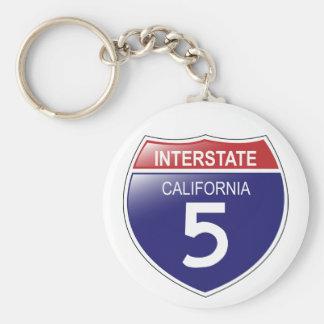 Porte-clés Porte - clé d'I-5 la Californie