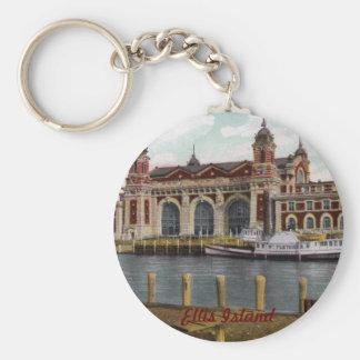 Porte-clés Porte - clé d'île d'Ellis