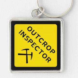 Porte-clés Porte - clé d'inspecteur d'affleurement