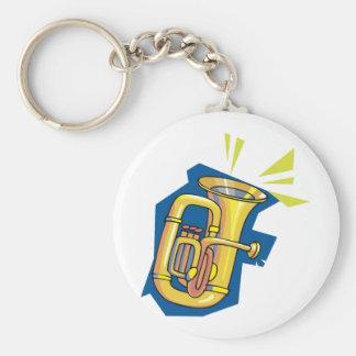 Porte-clés Porte - clé d'instrument de tuba