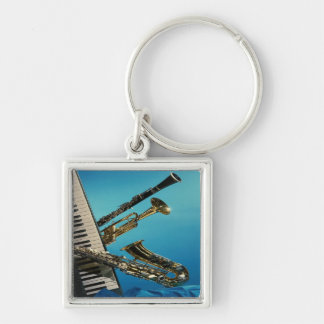 Porte-clés Porte - clé d'instruments de musique
