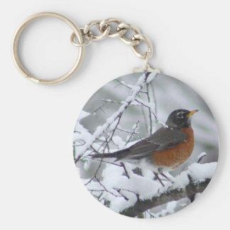 Porte-clés Porte - clé d'oiseau de Robin d'Américain