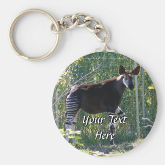 Porte-clés Porte - clé d'okapi