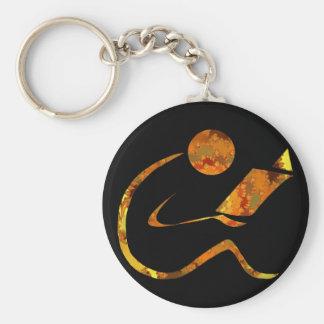 Porte-clés Porte - clé d'or de lecteur