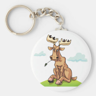 Porte-clés Porte - clé d'orignaux de bande dessinée