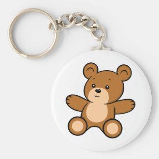 Porte-clés Porte - clé d'ours de nounours de bande dessinée