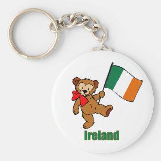 Porte-clés Porte - clé d'ours de nounours de l'Irlande