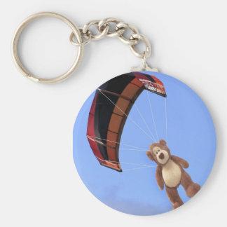 Porte-clés Porte - clé d'ours de nounours de parachutisme