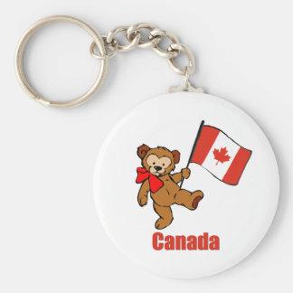 Porte-clés Porte - clé d'ours de nounours du Canada