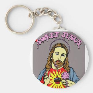 Porte-clés porte - clé doux de Jésus