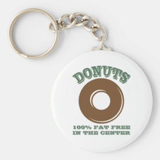 Porte-clés Porte - clé drôle de beignet
