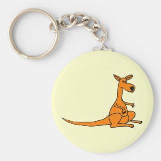 Porte-clés Porte - clé drôle de kangourou d'AL