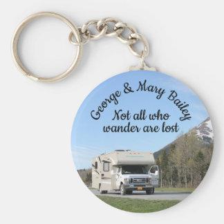 Porte-clés Porte - clé du campeur personnalisé par coutume rv
