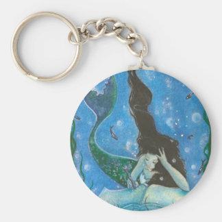 Porte-clés Porte - clé du conte d'une sirène