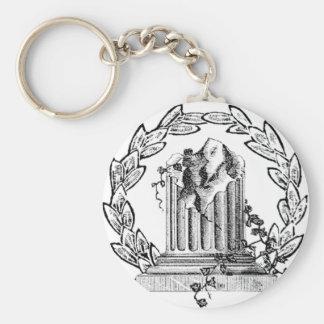 Porte-clés Porte - clé du Pin de la fenêtre du franc-maçon