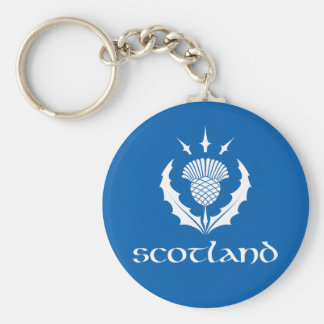 Porte-clés Porte - clé écossais de chardon