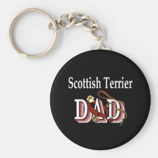 Porte-clés porte - clé écossais de papa de terrier