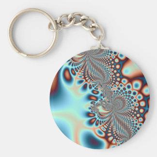 Porte-clés Porte - clé en spirale moderne