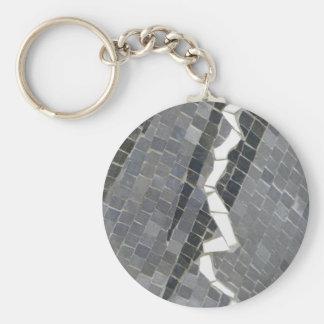 Porte-clés Porte - clé en verre de mosaïque