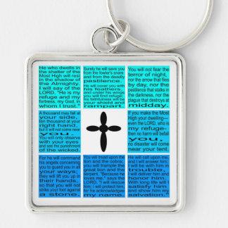 Porte-clés Porte - clé entier du psaume 91