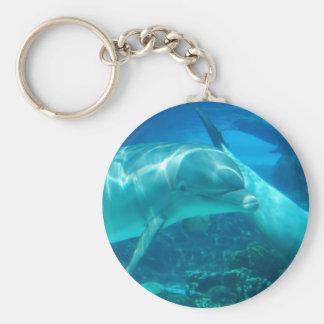 Porte-clés Porte - clé espiègle de dauphins