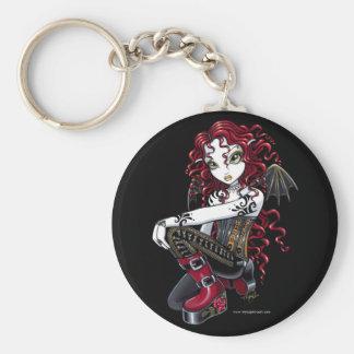 Porte-clés Porte - clé féerique d'art de tatouage gothique de