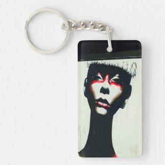 Porte-clés Porte - clé féroce de femme