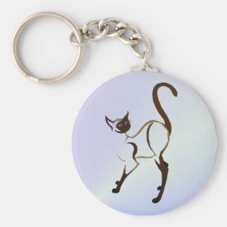 Porte-clés Porte - clé fier de chat siamois