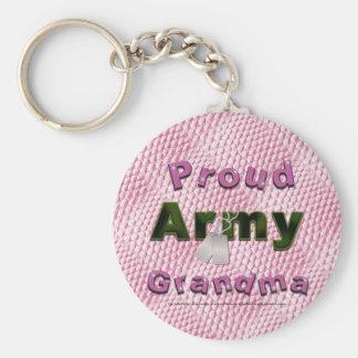 Porte-clés Porte - clé fier de grand-maman d'armée