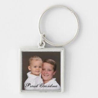 Porte-clés Porte - clé fier de photo de grand-maman