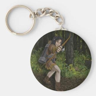Porte-clés Porte - clé foncé d'Elf