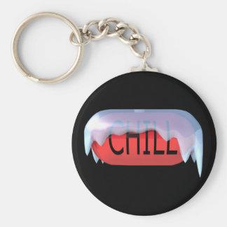 Porte-clés Porte - clé froid de rouge de pilule