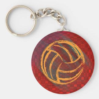 Porte-clés Porte - clé géométrique de volleyball