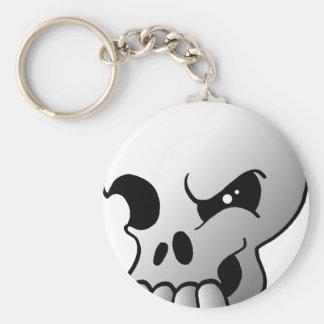 Porte-clés Porte - clé gris de crâne