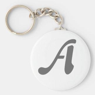 Porte-clés Porte - clé Gris-Un
